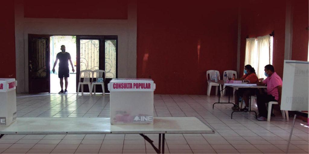 Sólo 3.4 por ciento de las y los ciudadanos de Nuevo León acudió a las mesas receptoras para la Consulta Popular 2021 para enjuiciar a los expresidentes