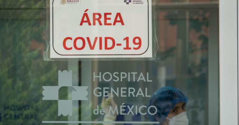 La Secretaría de Salud informó que hay camas suficientes para pacientes con COVID-19