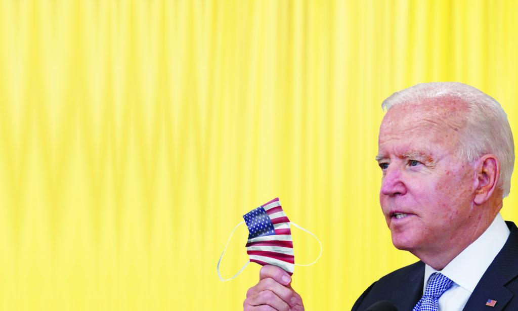 A pesar de que republicanos se han posicionado en contra de la medida implementada por el presidente Joe Biden para volver a usar cubrebocas
