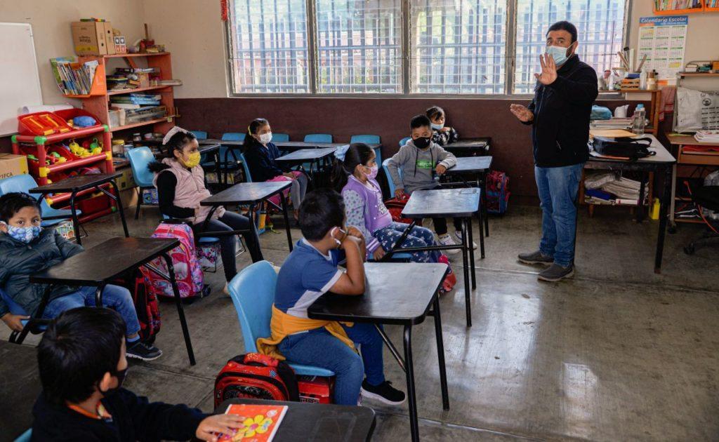 Delfina Gómez: 11.4 millones de estudiantes iniciaron ciclo escolar de manera presencial
