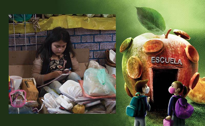 El cierre prolongado de las escuelas en México preocupa no solo por el retraso escolar, sino por las brechas de desigualdad del país