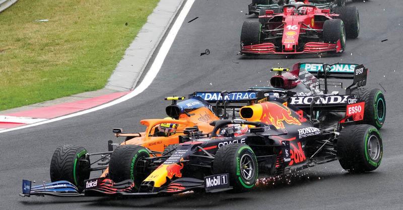 """Los """"Duendes de la Pista"""" aparecieron en el Gran Premio de HUNGRÍA"""