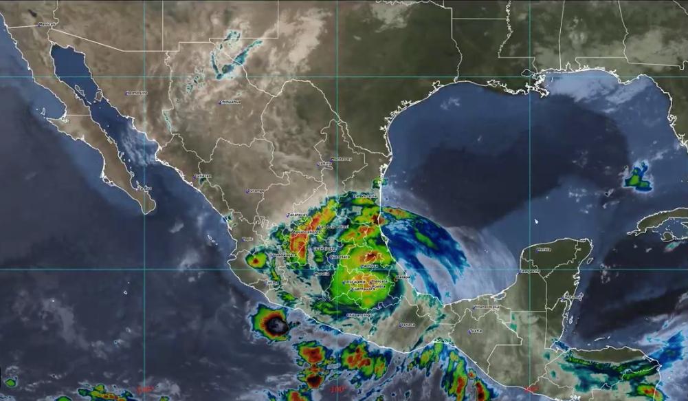 Suman ocho los muertos a causa del paso de Grace en Veracruz; incluída bebé de 15 días de nacida