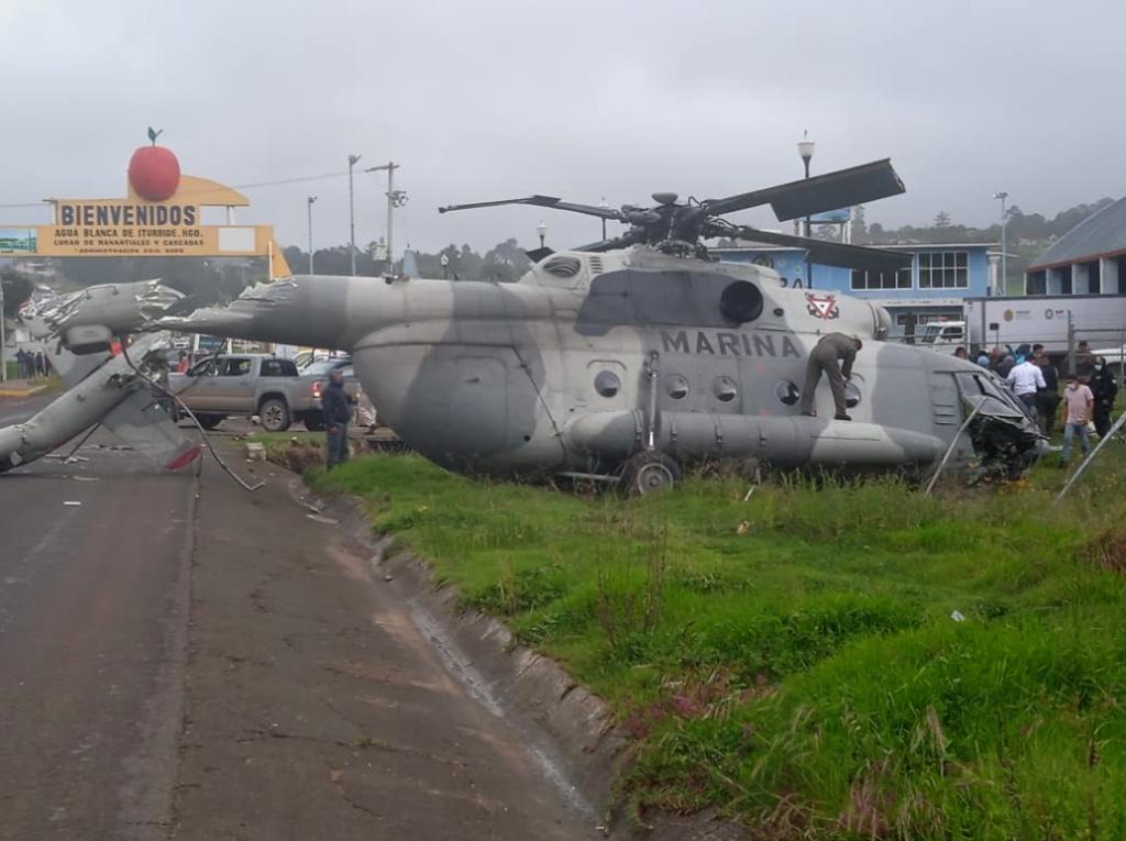 Cae helicóptero donde viajaba secretario de Gobierno de Veracruz, confirma Cuitláhuac García