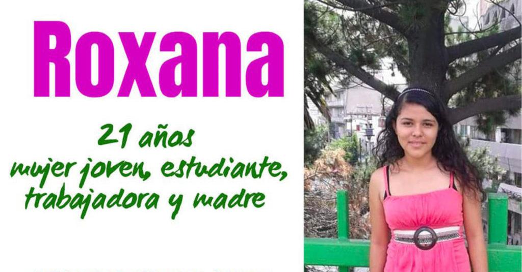 Roxana Ruiz, de 21 años, lleva tres meses en prisión preventiva por matar en defensa propia al al hombre que presuntamente abusó de ella