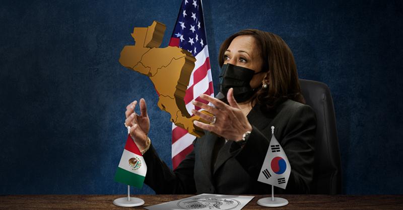 La vicepresidenta de EU, Kamala Harris, dio a conocer una estrategia para intentar frenar la migración de Centroamérica