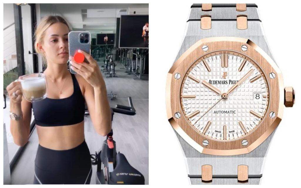 Mariana Rodríguez de nuevo en la polémica; ahora por usar reloj de 1 millón de pesos