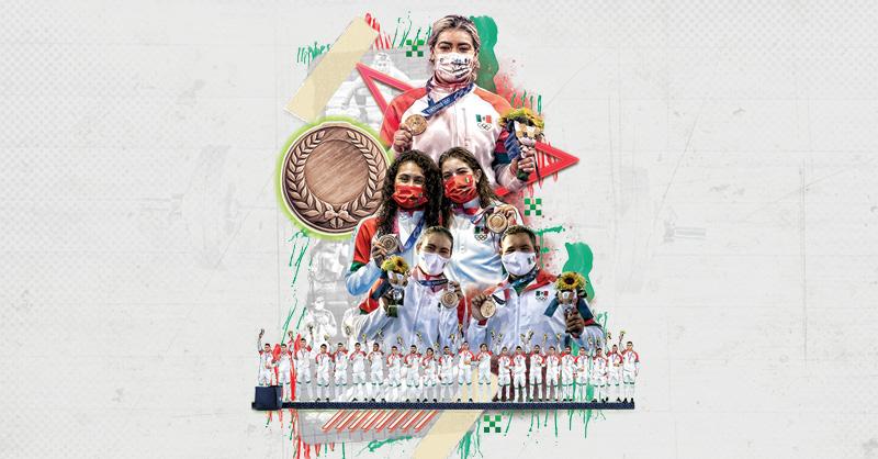 Nada como la frialdad de los números de medallas. Los cuatro bronces ganados por la Delegación mexicana representan su peor resultado en 25 años