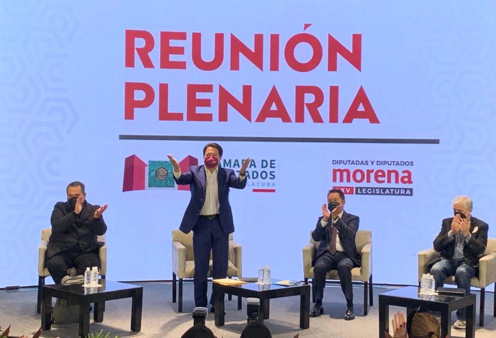 """Morena, PT y Verde van por """"megabancada"""" para quedarse con Mesa Directiva y Jucopo en San Lázaro"""