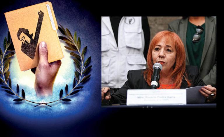 """Debilitada en tres décadas de existencia y """"sin dientes"""" para ser una institución con carácter la CNDH con Rosario Piedra vive una crisis"""