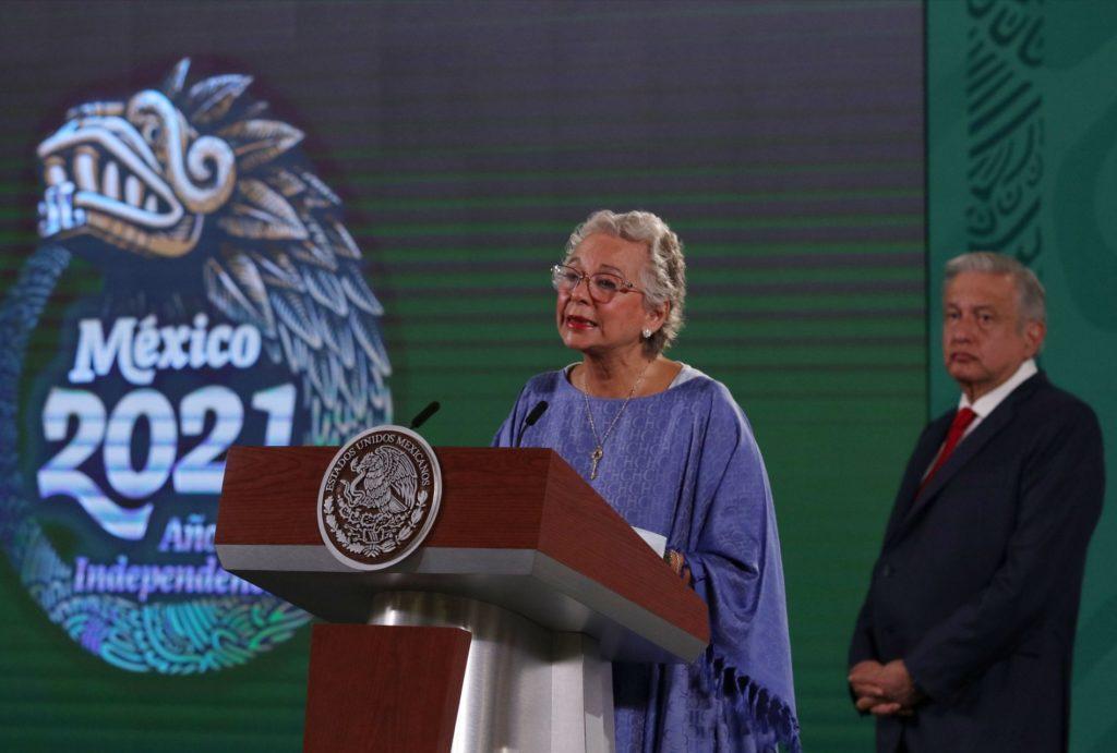 Olga Sánchez Cordero abandona la Secretaría de Gobernación; se reintegra al Senado