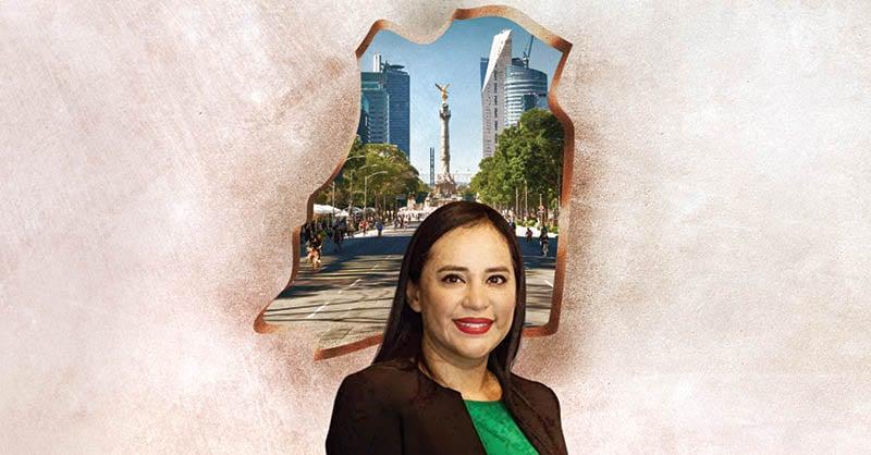 La alcaldesa electa de Cuauhtémoc, Sandra Cuevas, dice estar a la altura del reto de gobernar una de las 16 demarcaciones más importantes