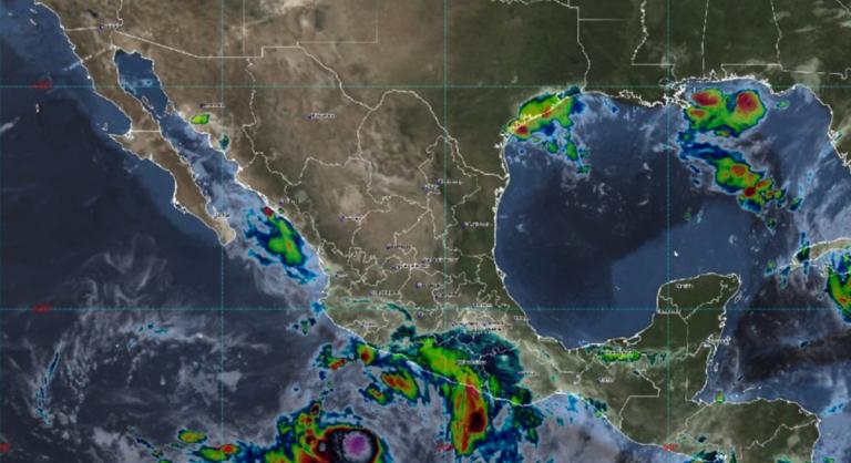 Nora subirá a huracán el fin de semana y provocará afectaciones en costas mexicanas