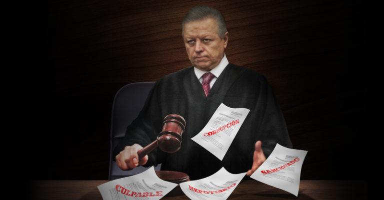 Arturo Zaldívar, asegura que el combate a la corrupción que está encabezando al interior del Poder Judicial de la Federación está alcanzando cifras inéditas