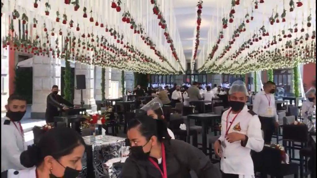 AMLO ofrecerá comida, música y baile a invitados especiales por consumación de Independencia