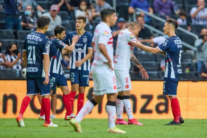 Monterrey venció a Toluca