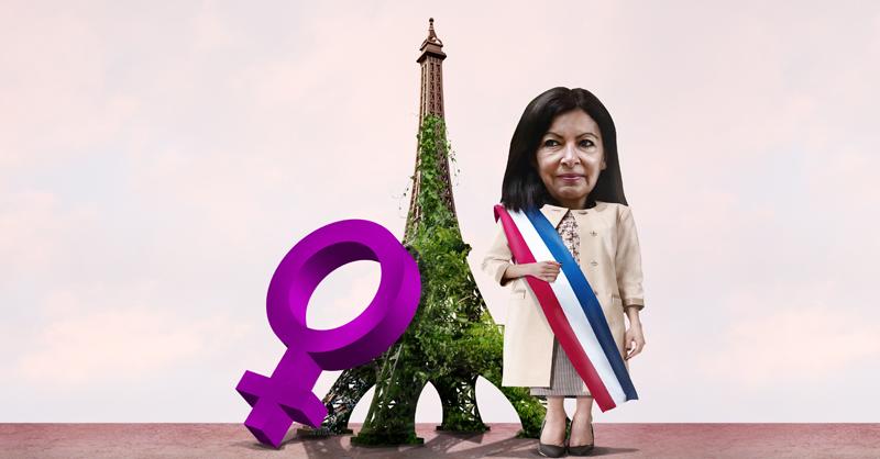 Anne Hidalgo, quien de ganar las elecciones generales de 2022, sería la primera mujer en dirigir al país europeo