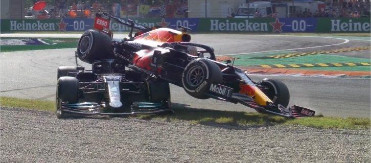 FIA castiga con tres posiciones a Max Verstappen tras accidente en el GP de Italia