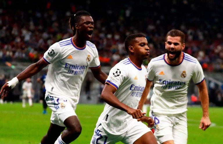 El Real Madrid resiste los ataques del Inter y al final se lleva la victoria