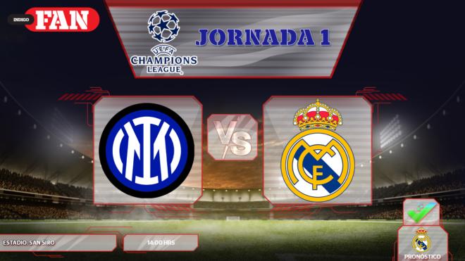 Inter vs Real Madrid ¿Cuándo y dónde ver?