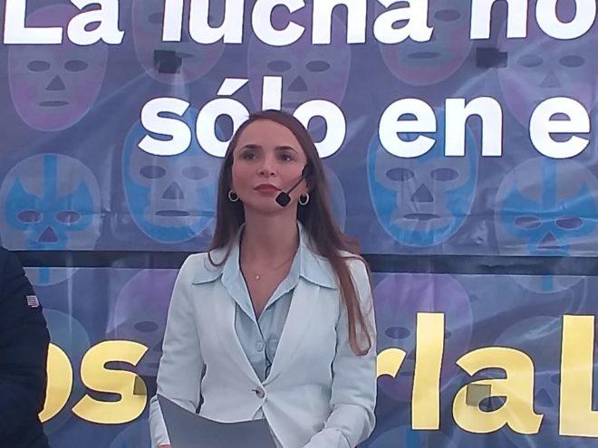Sofía Alonso, bisnieta de Salvador Lutteroth.