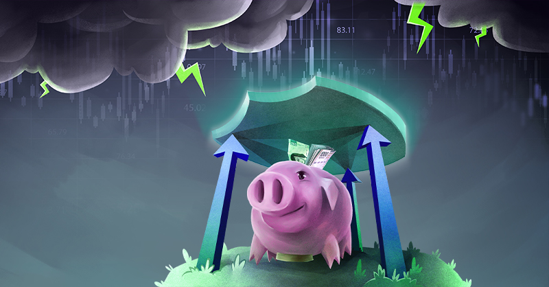 La inestabilidad en los mercados financieros han alentado a cada vez más mexicanos a proteger su dinero a través de instrumentos de ahorro e inversión