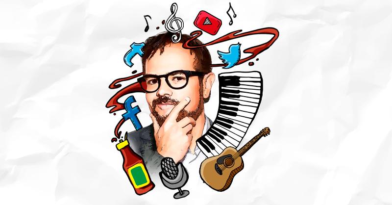 El cantante Aleks Syntek comparte, en entrevista, que una de las fórmulas para mantenerse vigente en la música es reinventarse y estar activo