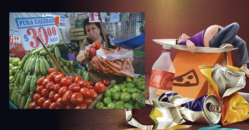 El consumir alimentos naturales y nutritivos debe ser una costumbre