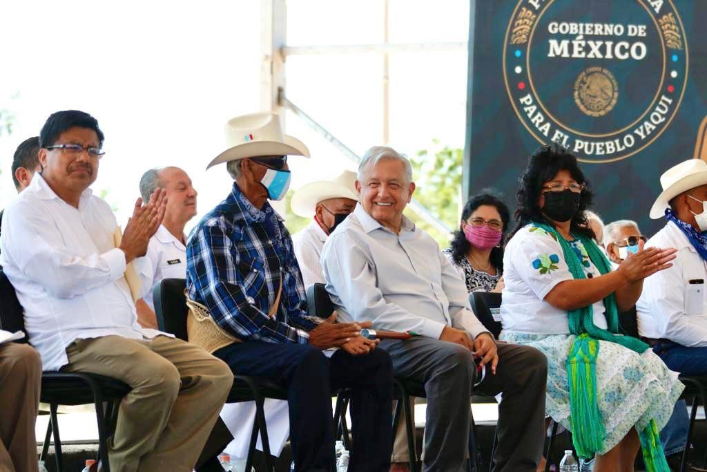 AMLO a pueblo yaqui: Estado Mexicano no debe permitir nunca más la marginación y el abuso