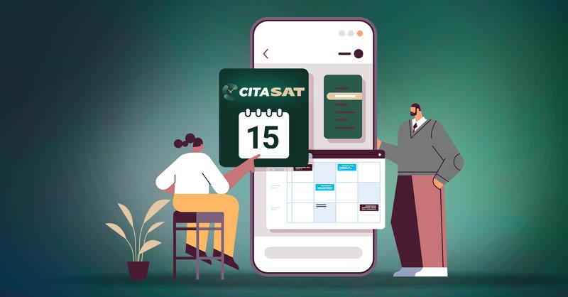 El Servicio de Administración Tributaria (SAT) puso a disposición de los contribuyentes un aplicativo para reservar, consultar y cancelar citas