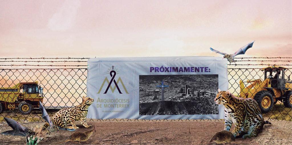 El padre José Manuel Guerrero, miembro de la Comisión de Medio Ambiente de la Arquidiócesis de Monterrey, está en contra de la explanada