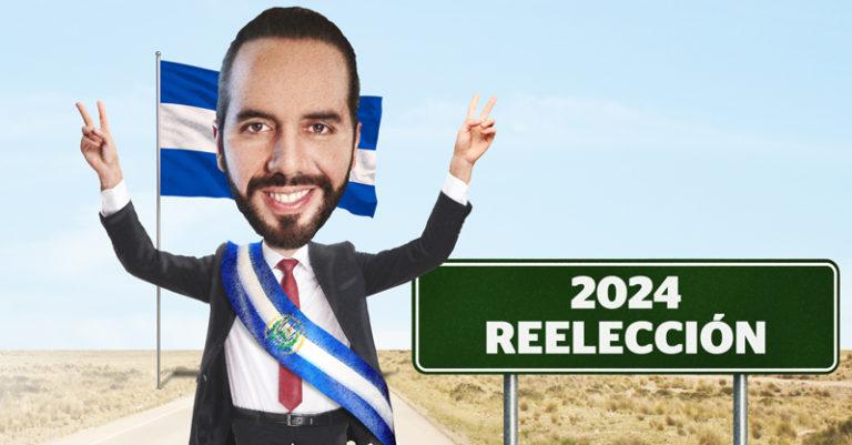El poder del presidente de El Salvador, Nayib Bukele, de El Salvador, sigue en aumento