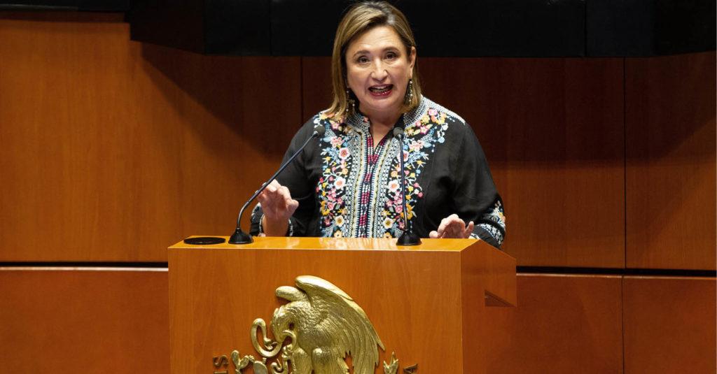 La senadora del Partido Acción Nacional, Xóchitl Gálvez, denunció que el Centro Nacional de Control de Energía (Cenace) compra insumos