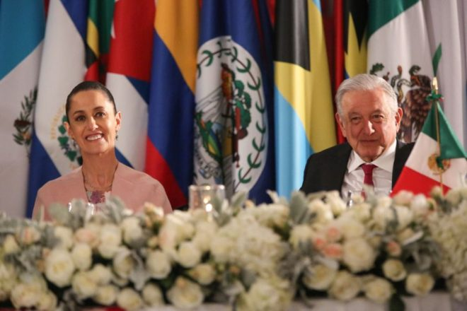 Claudia Sheinbaum, la invitada de honor de AMLO a cena de la CELAC en Palacio