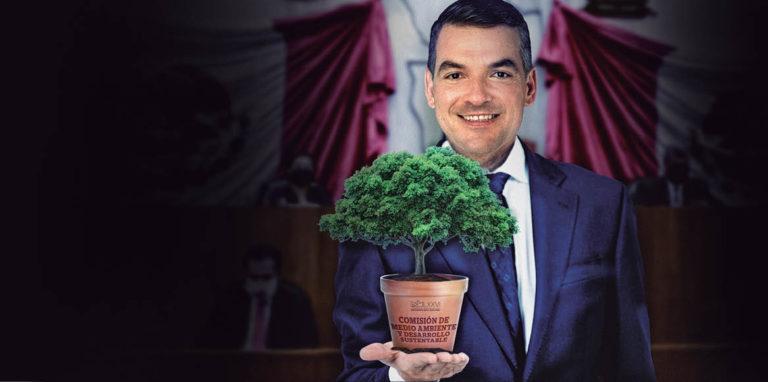 El panista Mauro Guerra presidirá la Comisión de Medio Ambiente y Desarrollo Sustentable del Congreso local, órgano legislativo