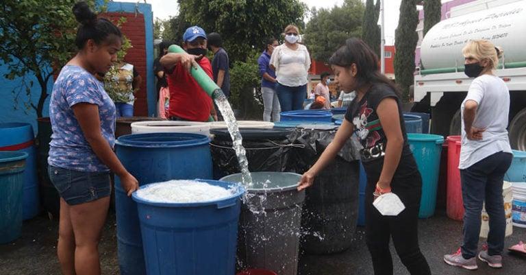 Aunque en agosto y septiembre el huracán Grace provocó lluvias intensas, el Sistema Cutzamala que abastece de agua continúa en niveles bajos