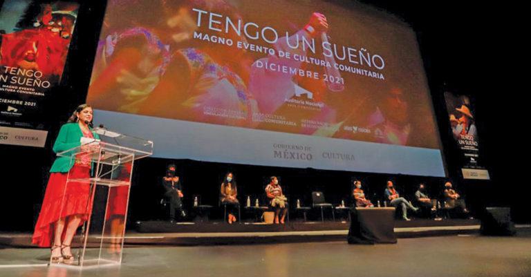 Para demostrar los resultados del programa Cultura Comunitaria, se organizará un magno evento en el Auditorio Nacional
