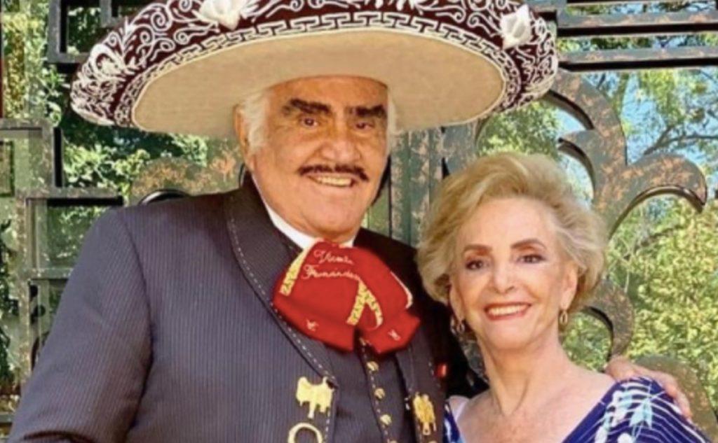 Hospitalizan de emergencia a 'Doña Cuquita', esposa de Vicente Fernandéz