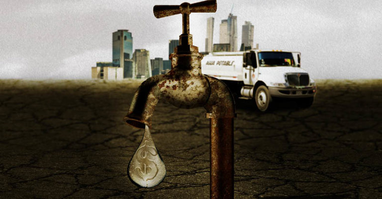 La problemática de abasto de agua en la Ciudad de México es cara: cuesta al año entre 60 y 80 millones de pesos de los recursos públicos
