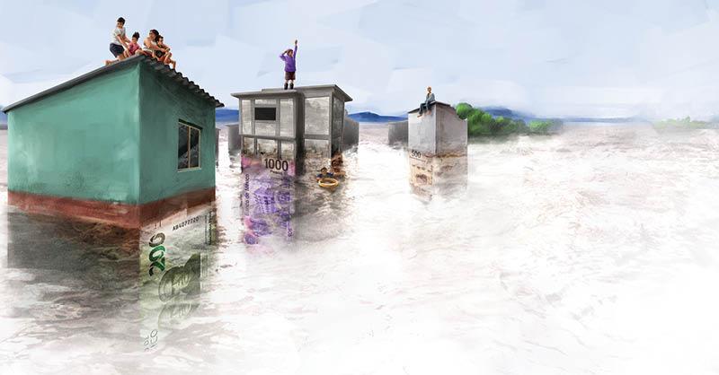 Desde hace 50 años los desastres naturales extremos se han multiplicado causando la muerte de miles de personas y dejando daños