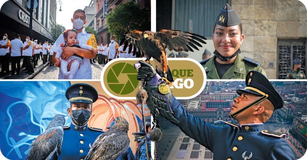 Como ya es tradición desde 1825, el desfile militar del 16 de septiembre se llevó a cabo en la CDMX, lugar donde acudieron elementos