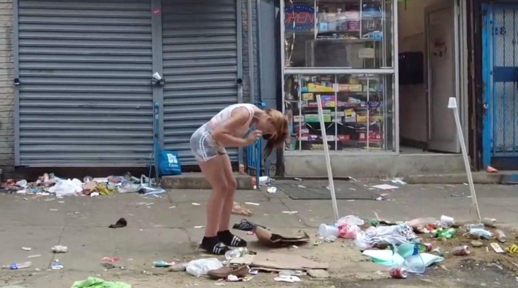 El aterrador VIDEO que muestra los devastadores efectos del fentanilo en  Filadelfia y EE.UU.