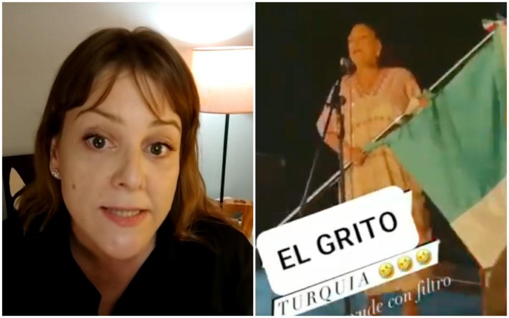 """Gabriela Cano, la mujer que encaró a Arvide por el """"viva López Obrador"""", rompe el silencio"""