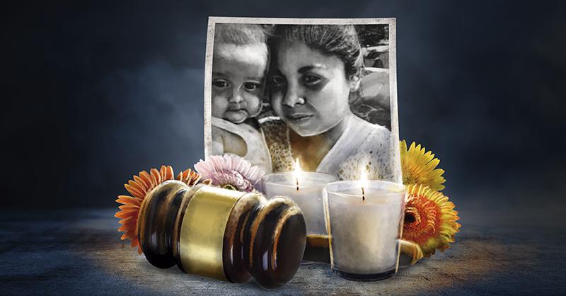 Continúan en impunidad las muertes de la joven Elizabeth y su bebé Tadeo, quienes fallecieron por las quemaduras que recibieron en un narcobloqueo