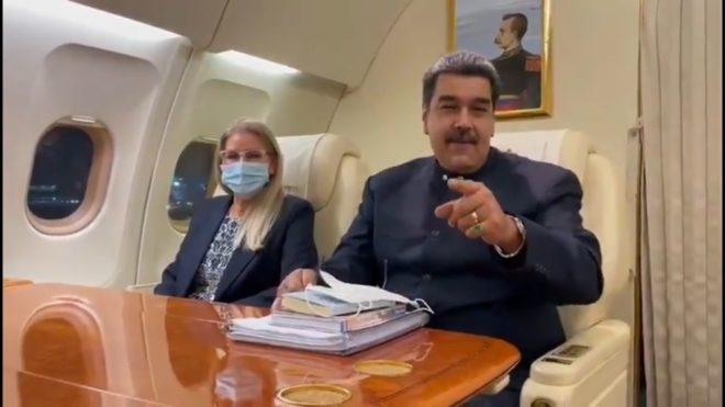 """Maduro advierte que trae a México """"la verdad de Venezuela, Bolívar, Chávez y los Libertadores"""""""