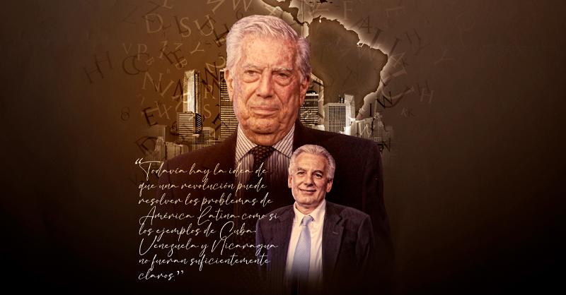 Las memorias y anécdotas del escritor Mario Vargas Llosa se revelarán en la serie Una vida en palabras