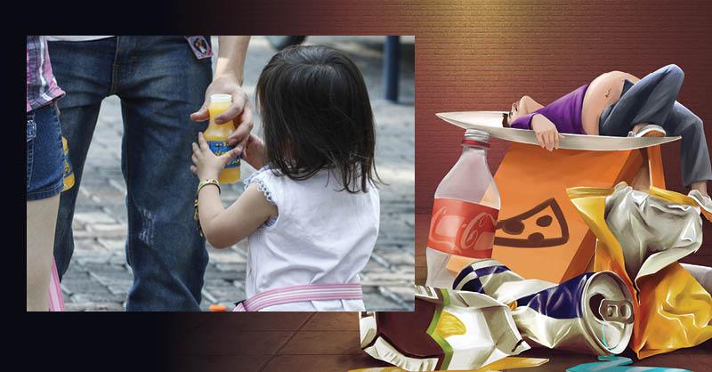 Es fundamental que la dieta de los menores esté basada en alimentos naturales, lo cual deben aprender a través de la educación