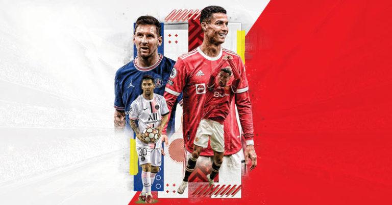 Mientras Cristiano Ronaldo tiene un inicio goleador con el Manchester United, Lionel Messi sigue sin marcar gol
