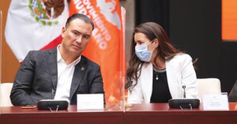 Mirza Flores Gómez, del partido Movimiento Ciudadano, debe ser en estos momentos la política jalisciense mejor posicionada