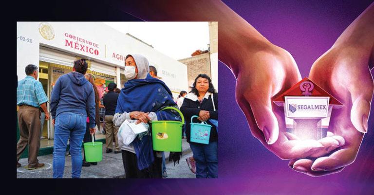 A un año de la firma del convenio entre Segalmex e Inmujeres para dotar de tienditas a mujeres víctimas de violencia